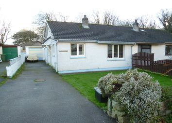 Thumbnail 2 bedroom semi-detached bungalow for sale in Bampfylde Way, Goldsithney, Penzance