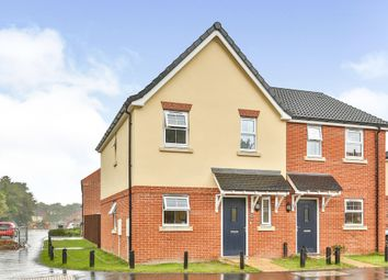 Thumbnail 3 bed semi-detached house for sale in Old Hall Road, Little Plumstead, Norwich