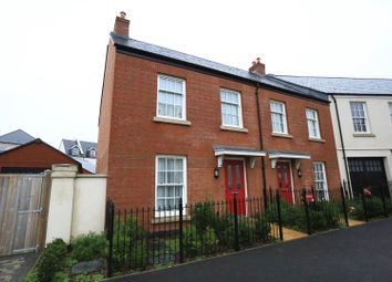 Thumbnail 3 bed end terrace house to rent in Indus Place, Sherford, Plymouth