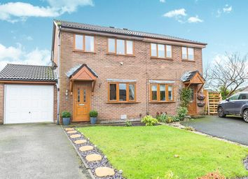 Thumbnail 3 bed semi-detached house for sale in Kilngate, Lostock Hall, Preston