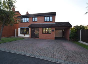 Thumbnail 4 bed detached house for sale in Brunel Close, Stourport-On-Severn