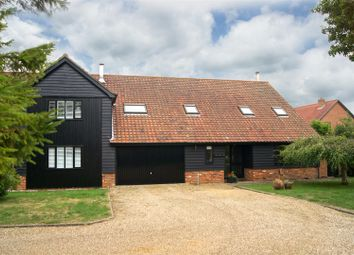 Thumbnail 4 bed barn conversion for sale in The Street, Hepworth, Diss
