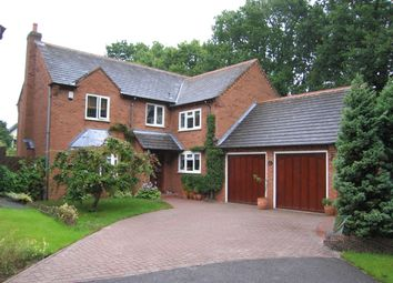 Thumbnail 4 bed detached house to rent in Brampton Crescent, Shirley, Solihull
