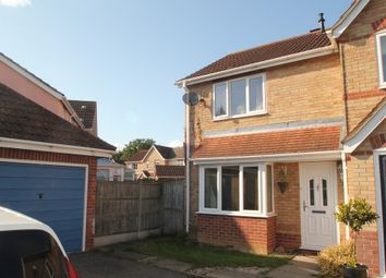Thumbnail 2 bed end terrace house for sale in Wrights Way, Leavenheath, Colchester