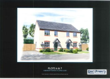 Thumbnail 3 bed semi-detached house for sale in St James Close, Drake Street, Malvern, Worcestershire