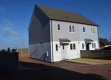 Thumbnail 3 bed semi-detached house for sale in North Pool Close, Lower Broad Lane, Redruth
