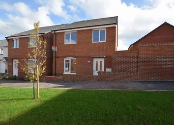 Thumbnail 4 bedroom detached house to rent in Lace Crescent, Tiverton