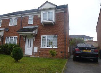 Thumbnail 3 bedroom semi-detached house to rent in Dorrington Close, Luton
