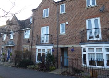 Thumbnail 4 bedroom town house for sale in Eagle Way, Hampton Vale, Peterborough