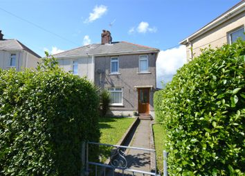 Thumbnail 2 bed semi-detached house for sale in Hendre Crescent, Llangennech, Llanelli