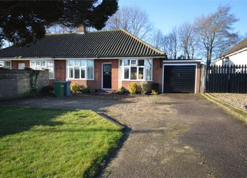 Thumbnail 2 bed semi-detached bungalow for sale in Holt Road, Hellesdon, Norwich