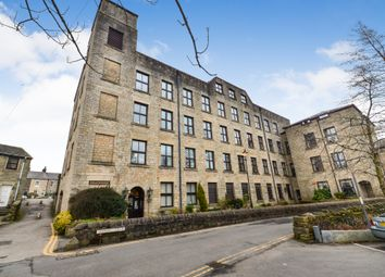 Thumbnail 1 bed flat for sale in Village Green, Uppermill, Oldham