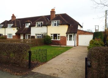 Thumbnail 2 bed end terrace house for sale in South View, Lower Withington, Macclesfield, Cheshire