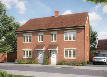 "Thumbnail 3 bed semi-detached house for sale in ""The Hazel"" at Park Road, Hellingly, Hailsham"