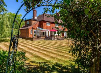 Thumbnail 5 bed detached house for sale in Woodlands Close, Ottershaw, Surrey
