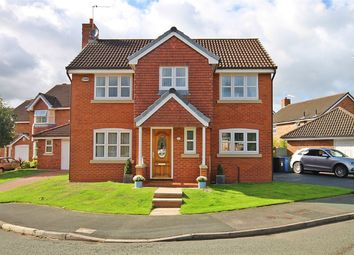 Thumbnail 4 bedroom detached house for sale in Mossdale Close, Great Sankey, Warrington