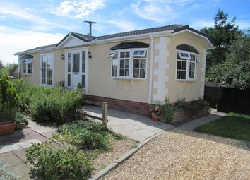 Thumbnail 1 bed mobile/park home for sale in Fleur De Lys Park (Ref 5410), Pilley Hill, Lymington, Hampshire