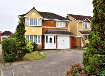 Thumbnail 4 bed detached house for sale in Seckford Close, Rushmere St. Andrew, Ipswich