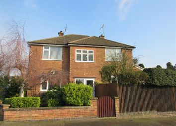 Thumbnail 4 bed detached house for sale in Greendale Road, Glen Parva, Leicester