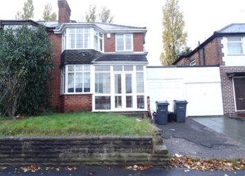 Thumbnail 3 bed semi-detached house to rent in Chipperfield Road, Birmingham