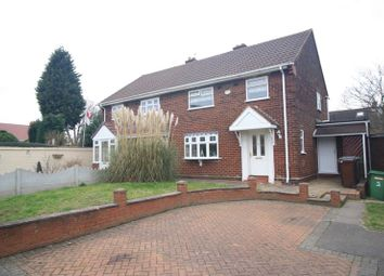 Thumbnail 3 bed detached house for sale in Trentham Rise, Wolverhampton, West Midlands