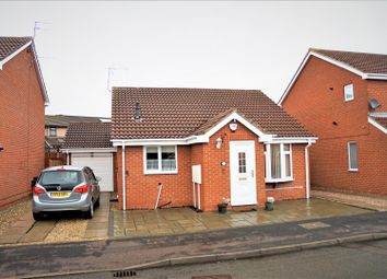 Thumbnail 2 bed detached bungalow for sale in Queensmead Close, Groby, Leicester