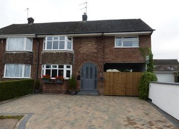 Thumbnail 4 bedroom semi-detached house to rent in Welbeck Grove, Allestree, Derby