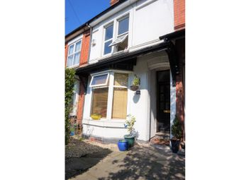 Thumbnail 3 bed terraced house for sale in Newhampton Road West, Wolverhampton