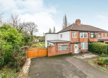 Thumbnail 4 bed semi-detached house for sale in Liverpool Road, Moston, Chester, Cheshire