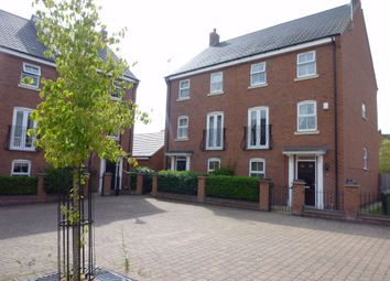 Thumbnail 4 bed semi-detached house for sale in Longstork Road, Coton Meadows, Rugby, Warwickshire