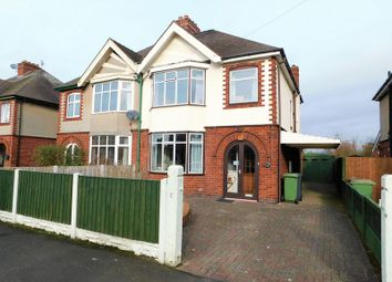 Thumbnail 3 bed semi-detached house for sale in The Crescent, Doxey, Stafford.