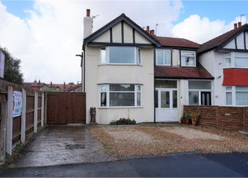 Thumbnail 4 bed semi-detached house for sale in Anglesey Road, West Kirby