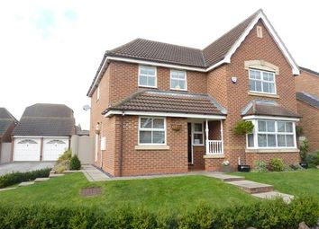 Thumbnail 4 bed detached house for sale in Bluebell Court, Healing, Grimsby