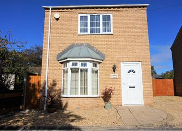 Thumbnail 3 bed detached house for sale in Ely Row, Terrington St John