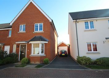 Thumbnail 3 bedroom semi-detached house for sale in Yellowhammer Close, Stowmarket