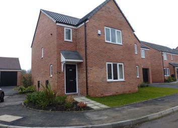 Thumbnail 3 bed detached house for sale in Lewis Crescent, Annesley, Nottingham