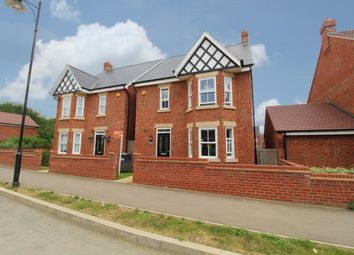 Thumbnail 4 bed detached house for sale in Wilkinson Road, Bedford