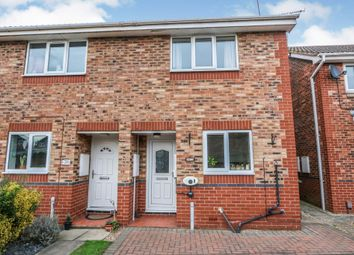 Thumbnail 2 bed semi-detached house for sale in Primrose Way, Flixborough, Scunthorpe
