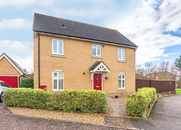 Thumbnail 3 bed detached house for sale in Beale Close, Bury St. Edmunds