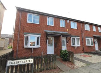 Thumbnail 3 bed end terrace house for sale in Robert Street, Blyth