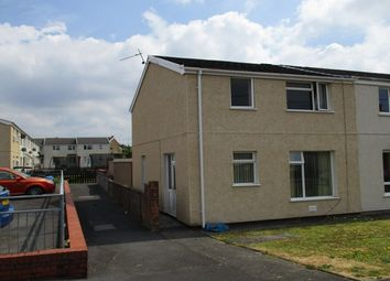 Thumbnail 3 bed end terrace house for sale in Ger Y Gwendraeth, Dyfed