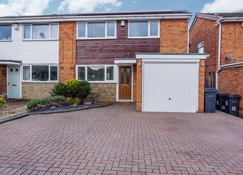 Thumbnail 3 bed semi-detached house for sale in Laburnum Drive, Walmley, Sutton Coldfield