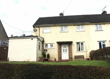 Thumbnail 3 bed semi-detached house for sale in 4, Bron Y Gaer, Llanfyllin, Powys