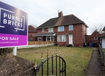 Thumbnail 3 bed semi-detached house for sale in Doncaster Road, Doncaster