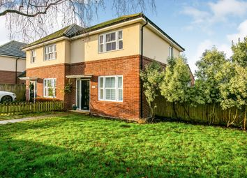 Thumbnail 2 bed semi-detached house for sale in Pendragon Hill, Papworth Everard, Cambridge