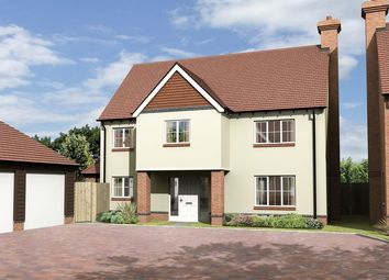 Thumbnail 4 bed detached house for sale in The Akeman, Plot 17, The Portway, East Hendred