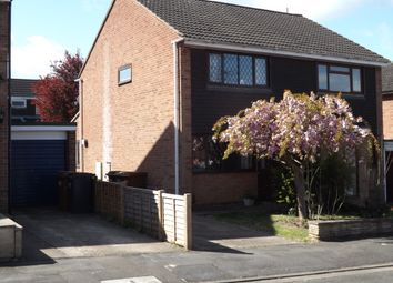 Thumbnail 2 bed semi-detached house to rent in Branston Crescent, Melton Mowbray