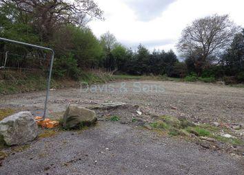 Thumbnail Land for sale in Plot 4 Newbridge Road, Pontllanfraith, Blackwood, Caerphilly.