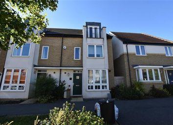 Thumbnail 4 bed terraced house for sale in Gyosei Gardens, Willen Park, Milton Keynes