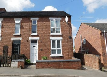 Thumbnail 3 bedroom end terrace house for sale in Lansdowne Road, Swadlincote